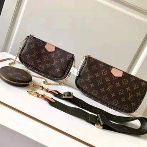 Louis Vuitton Pochette Accessoires Multi Black